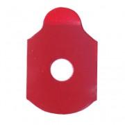 "Klebepads ""Red Five"" oval 1000 Stück"