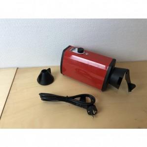 """GEBRAUCHT (11) Heißluftgerät """"FATA"""" Standard liegend rot"""