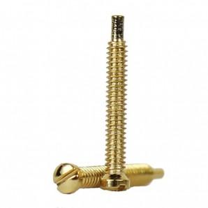 Selbstschneidene Schrauben 1,3 mm Gold 50 Stück
