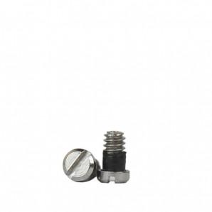 Selbstsichernde Schrauben 1,4 mm Silber 50 Stück