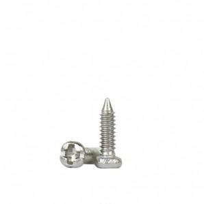 Padschrauben kreuzschlitz 1,1 mm Silber 100 Stück