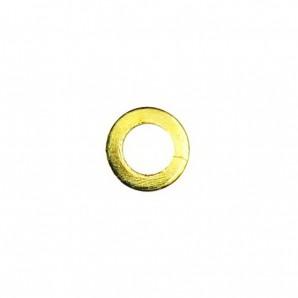 Unterlegscheiben Metall 1,5 mm Gold 100 Stück