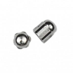 Sechskanthutmuttern 1,4 mm Silber 100 Stück