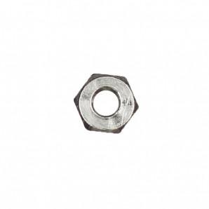 Sechskantmuttern 1,4 mm Silber 100 Stück