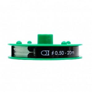 Nylonfaden 0,5 mm Farblos 20 m