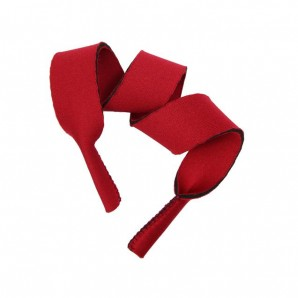 Neopren Brillenband 5 Stück - Rot