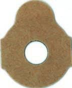 Klebepads 3M 411 24 mm 1000 Stück