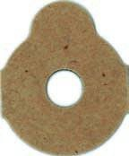 Klebepads 3M 411 25 mm 1000 Stück