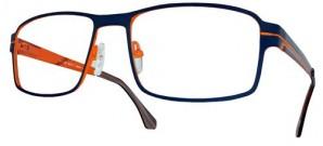 """Herrenfassung """"classic man"""" - Blau/ Orange"""