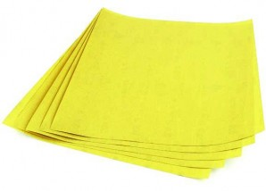 Schleifpapier Körnung 220 - 5 Stück