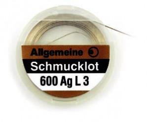 Schmucklot 600 AG L3 Silber 2 g