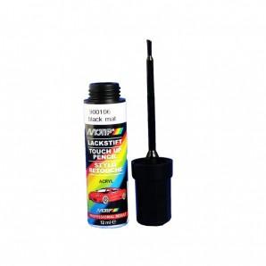 Reparaturlack Schwarz matt 12 ml