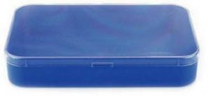 Sortimentskasten Blau mit Deckel
