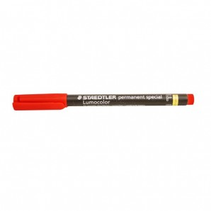 """Markierstift """"Staedtler Lumocolor"""" Rot fein (F) Spezial*"""