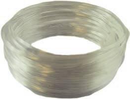 PVC Einlage 1,6 mm breit 0,25 mm dick 6 m lang