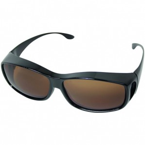 """Überbrille """"Basic"""" Braun Schwarz"""