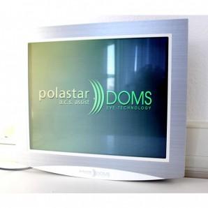 GEBRAUCHT (71) Doms Polastar Sehzeichensystem Sehprüfsystem mit Polarisation
