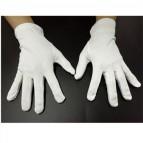 """Microfaser Handschuhe weiß """"Eco"""" Gr. S/M"""