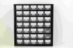 """Sortimentsschrank """"De Luxe - All in One"""" mittel mit Seitenstegen HQ """"De Luxe""""(506 Paar Seitenstege und 40 Stück Sattelstege)"""