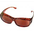 """Überbrille """"Basic"""" Braun Leopardenfarben"""