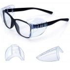 NEU Seitenschutz für Brillen - Farblos 1 Paar