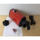 """GEBRAUCHT (6) Heißluftgerät """"FATA"""" Spezial mit Regelung liegend rot"""