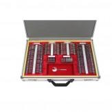 "Refraktionskasten ""Optotec 090M"" 266 Gläser mit Metallrahmen im Koffer"