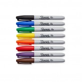 Sharpie Permanentmarker 8er Set Etui 1 mm