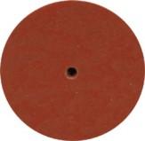 Gummipolierer Radform Ø 22 mm 2 Stück