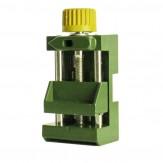 Schraubstock für Bohr und Poliergerät 844.31 Grün
