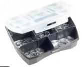 Sortiment Seitenstege Glas Allergieschutz klein (80 Teile)