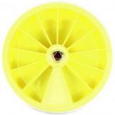 Sortimentskasten Gelb rund 12 Fächer