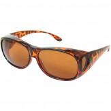 """Überbrille """"Style"""" mittelgroß Havanna Braun"""